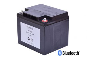 Lithium 12V 50Ah LiFePO4 battery incl. bluetooth